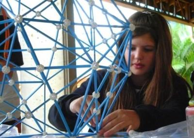 Zome – geometric construction