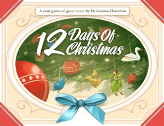 12 Days of Christmas (2-8 players; 20 minutes; ages 8+)