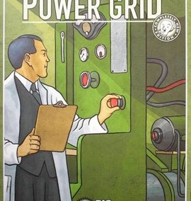 Power Grid (3-6 players; 60 minutes; ages 10+)