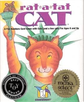 Rat-A-Tat-Cat (2-6 players; 10 minutes; ages 6+)