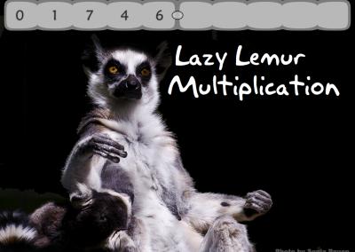Lazy Lemur Puzzles