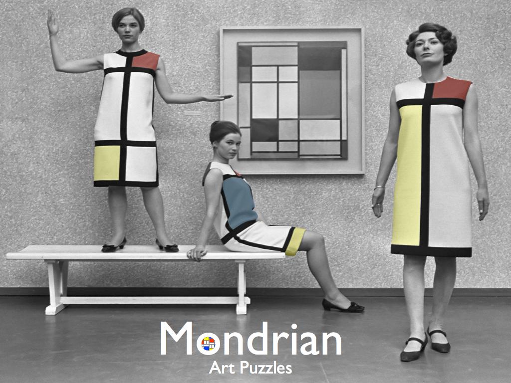 Mondrian Art Puzzles.015
