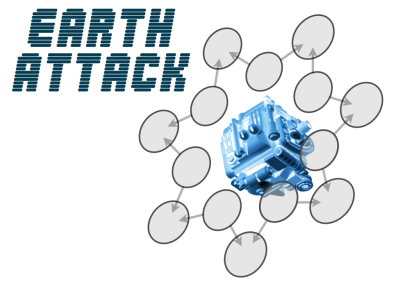 Earth Attack – addition puzzle