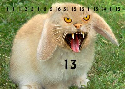 Sum or Difference – Mutant Fibonacci Bunny