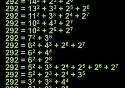 Three Exponential Explorations