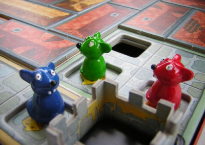 Chateau Roquefort  (2-4 players; 30 minutes; ages 6+)