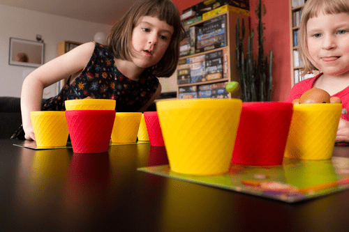 Coconuts  (2-4 players; 15 minutes; ages 5+)