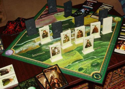 Lord of the Rings: The Confrontation (2 players; 25 minutes; ages 7+)
