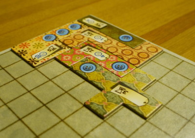 Patchwork (2 players; 25 minutes; ages 6+)