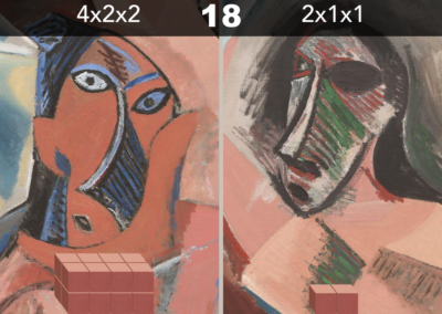 Picasso's Cuboids (volume puzzle)