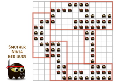 Ninja Bed Bugs (multiplication)