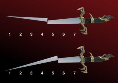 The Broken Sword (addition, division, mini-mathematical universe)