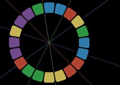 Spectral Blaster Hit (symmetry, patterns)