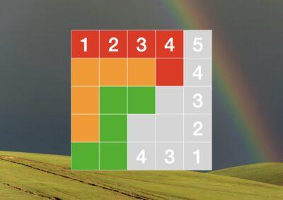 Rainbow Sudoku (logic puzzle)