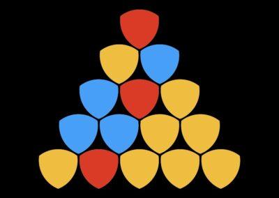 Three Color Triangle Puzzles (logic, algorithm)